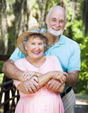 Loving Older Couple Stock Image