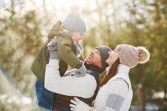 Loving parents Stock Image