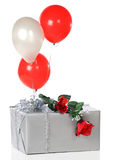 Loving Party Gift Royalty Free Stock Photography