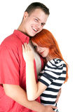 Loving people hugging each other Royalty Free Stock Images
