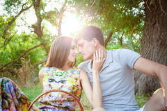 Loving people Royalty Free Stock Photography