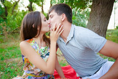 Loving people Royalty Free Stock Images