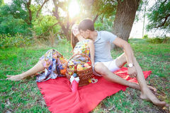 Loving people Stock Images