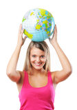 Loving the planet Stock Image