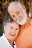 Loving Senior Couple Stock Photography