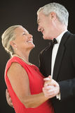 Loving Senior Couple Dancing Stock Image