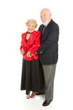 Loving Seniors Dancing Stock Photography