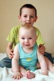 Loving Sibling Royalty Free Stock Photo