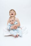 Loving siblings Royalty Free Stock Photography