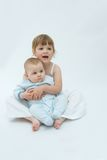 Loving siblings Royalty Free Stock Image