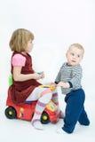 Loving siblings Stock Photos