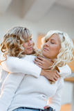 Loving sisters Royalty Free Stock Images