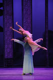 Loving support-The second act of dance drama-Shawan events of the past. Guangdong Shawan Town is the hometown of ballet music, the past focuses on the historical Stock Photography
