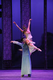 Loving support-The second act of dance drama-Shawan events of the past Royalty Free Stock Photos