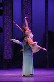 Loving support-The second act of dance drama-Shawan events of the past Stock Photos