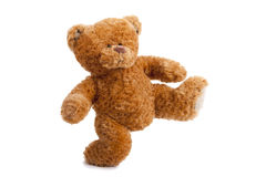 Happy teddy bear Stock Photography