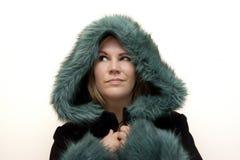 Loving the winter fashion stock image