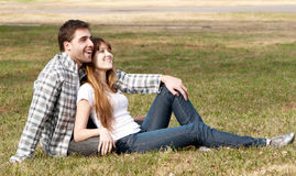 Loving young couple, Royalty Free Stock Images