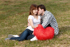Loving young couple Royalty Free Stock Photos