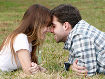 Loving young couple, Stock Photography