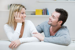 Loving young couple Stock Photography