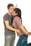 Loving young couple Royalty Free Stock Photo