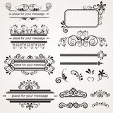 Lovlely background with ornaments Royalty Free Stock Images