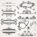 Lovlely background with ornaments Stock Photo