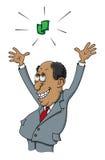 Lovorda dollaren stock illustrationer