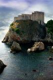 Lovrijenac dans Dubrovnik Photographie stock libre de droits