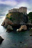 Lovrijenac in Dubrovnik Royalty Free Stock Photography