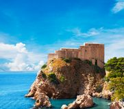 Lovrijenac fort. In Old city of Dubrovnik Stock Photo