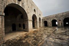 Lovrijenac forteca - Dubrovnik, Chorwacja Zdjęcie Royalty Free