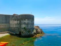 Lovrjenac forte in Ragusa, Croazia Immagini Stock