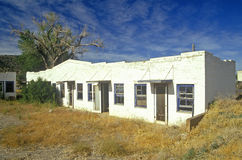 low abandoned motel Royalty Free Stock Photos