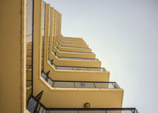Low Angle Building Apartments Royalty Free Stock Photos
