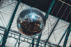 Low angle of disco ball Royalty Free Stock Photos