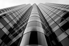 Low Angle Glass High Rise Building Royalty Free Stock Photography