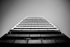 Low Angle of High Rise Building Royalty Free Stock Image