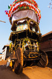 Low Angle Large Ratha Chariot Gokarna Full Stock Photography