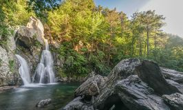 Bash Bish falls royalty free stock image
