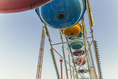 Low Angle Photo of Blue Yellow and Green Ferris Wheel Royalty Free Stock Images