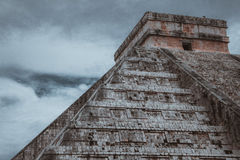 Low Angle Photo of Brown Pyramid Building Stock Images