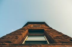 Low-angle Photo of Brown Structure Stock Photography