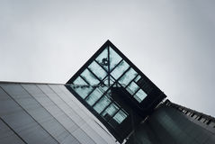 Low Angle Photo of Glass Building Stock Photography