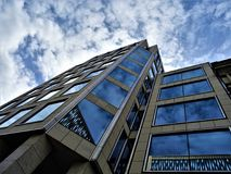 Low Angle Photo of High-rise Building stock image