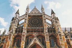 Low Angle Photography of Beige and Brown Cathedral Royalty Free Stock Photography