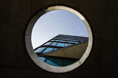 Low Angle Photography of Black Glass Mirror Building during Daytime Royalty Free Stock Photo