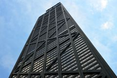 Low Angle Photography of Black High Rise Building Royalty Free Stock Photography