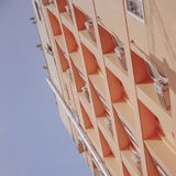 Low Angle Photography of Brown High-rise Building Stock Photo